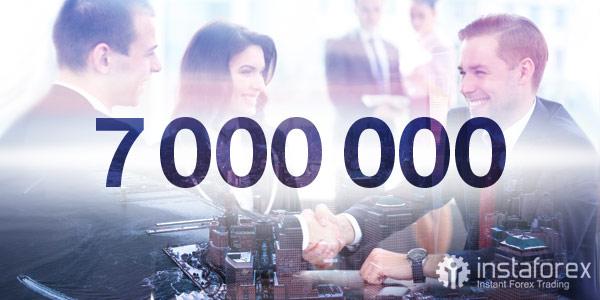 7.000.000 trader diseluruh dunia memilih InstaForex