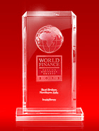 World Finance Awards 2013 - A Melhor Corretora do Norte da Ásia