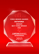 «Meilleur courtier en Asie 2015» selon Capital Finance International