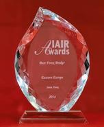 Кращий брокер Східної Європи 2014 з версії IAIR Awards