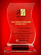 Кращий роздрібний брокер за підсумками Forex & Investment Summit 2011