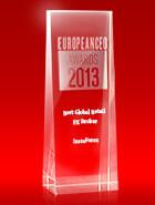 Кращий глобальний рітейл-брокер 2013 року до версії European CEO Awards