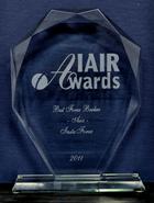 Кращий Брокер Азії 2011 по версії IAIR Awards