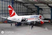 InstaForex airplane
